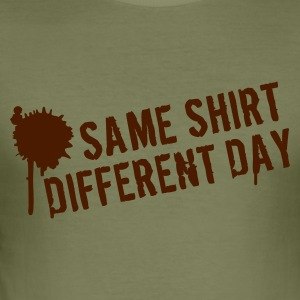Camel Same shirt different day T-shirts - slim fit T-shirt