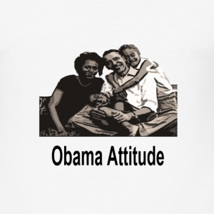 obama familly - Tee shirt près du corps Homme