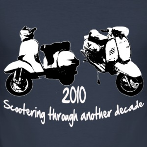 scootering 2010 - Men's Slim Fit T-Shirt
