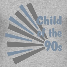 Heather grey Child of the 90s Men's T-Shirts