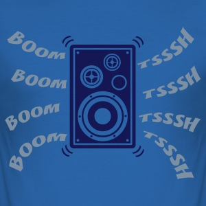 Boom Tsssh Speaker - slim fit T-shirt