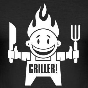 Griller - Männer Slim Fit T-Shirt