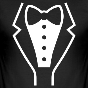 Black Tuxedo Men's Tees - Men's Slim Fit T-Shirt
