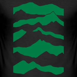 Eigeel mountains T-shirts - slim fit T-shirt