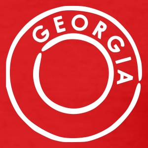 Rood Georgia T-shirts - slim fit T-shirt