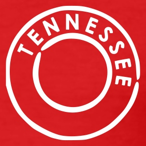 Red Tennessee Men's Tees - Men's Slim Fit T-Shirt