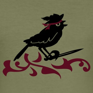 Camel mus de piraat / sword of the sparrow (2c) T-shirts - slim fit T-shirt