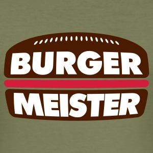 Camel Burger Meister © T-Shirts - Slim Fit T-skjorte for menn