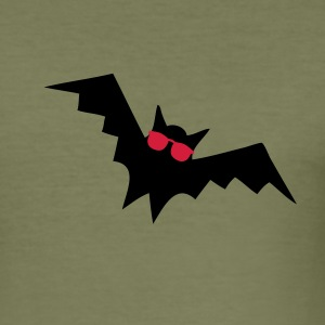 Cammello Blind as a Bat T-shirt - Maglietta aderente da uomo