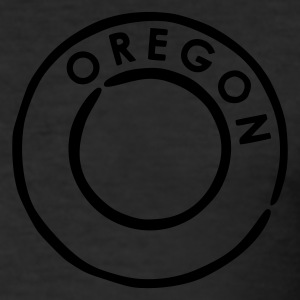 Egg yellow Oregon Men's Tees - Men's Slim Fit T-Shirt