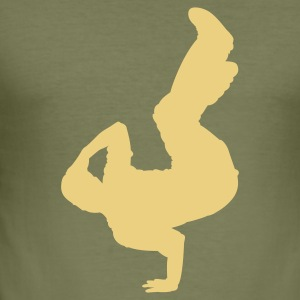 Breakdance 07 - slim fit T-shirt