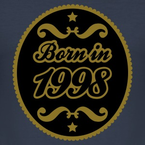 Navy 1998 T-Shirts - Männer Slim Fit T-Shirt