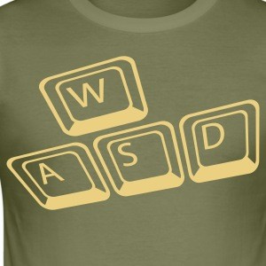 WASD - Männer Slim Fit T-Shirt