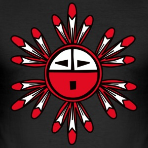 Hopi Kachina Sun Symbol t-shirt - Men's Slim Fit T-Shirt