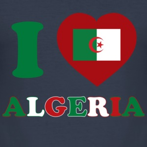 Algerien - Männer Slim Fit T-Shirt