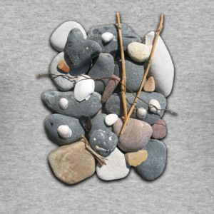 Heather grey Stones Men's T-Shirts - Men's Slim Fit T-Shirt