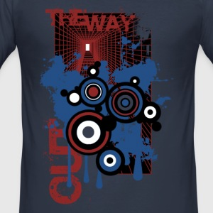 Navy the way out T-shirts - Tee shirt près du corps Homme