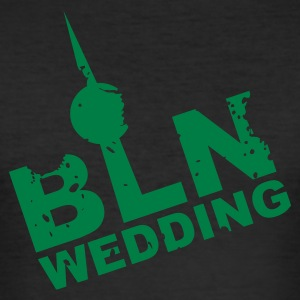 Berlin Wedding - Männer Slim Fit T-Shirt