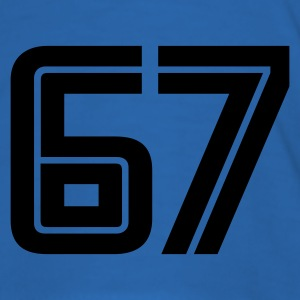 Sky blue 67 T-Shirts - Männer Slim Fit T-Shirt