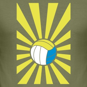 beachvolley - Herre Slim Fit T-Shirt