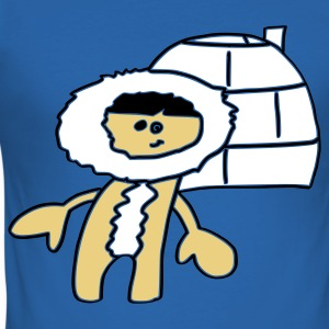 Winter Eskimo Kanada T-Shirt - Männer Slim Fit T-Shirt