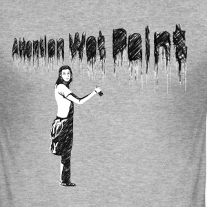 WET PAINT - Männer Slim Fit T-Shirt