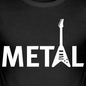 metal T-Shirts - Men's Slim Fit T-Shirt