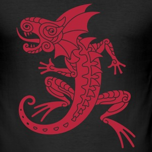 Lizard T-shirts - Slim Fit T-shirt herr