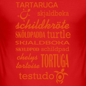 Turtle T-Shirts - Men's Slim Fit T-Shirt