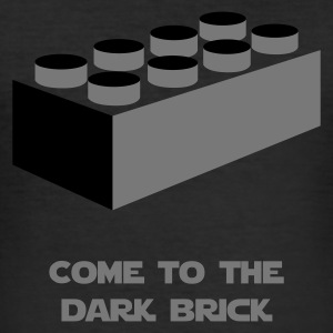 Come to the dark brick - Männer Slim Fit T-Shirt
