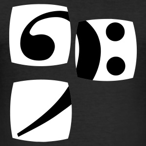 The bass clef for musicians in our series shows you her bass player bass players. T-Shirts - Men's Slim Fit T-Shirt