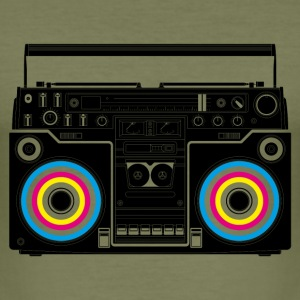 Camel boombox black T-shirts - slim fit T-shirt