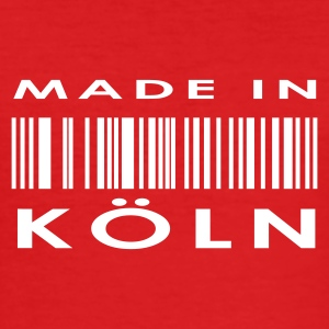 Vinrød Köln T-shirts - Herre Slim Fit T-Shirt