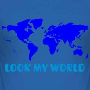 LOOK MY WORLD - Tee shirt près du corps Homme