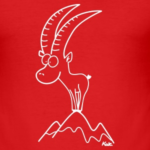 Red Capricorn Men's Tees - Men's Slim Fit T-Shirt