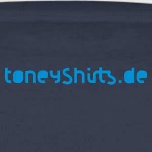 Navy BASSTLER T-Shirts - Männer Slim Fit T-Shirt