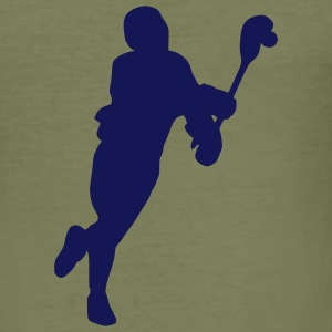 Lacrosse T-Shirts - Männer Slim Fit T-Shirt