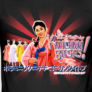 konichiwa bitches T-Shirts - Männer Slim Fit T-Shirt