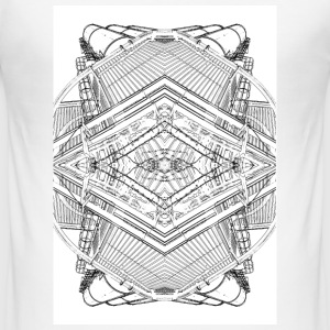 factory mandala - Men's Slim Fit T-Shirt