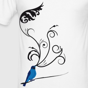 The Darkling Thrush - Men's Slim Fit T-Shirt