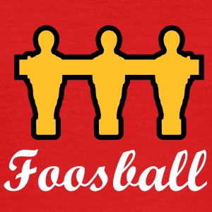Foosball retro | Kicker-Shirt - Männer Slim Fit T-Shirt