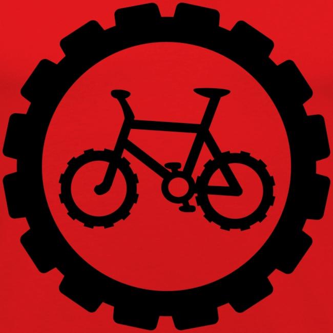 bike logo tee
