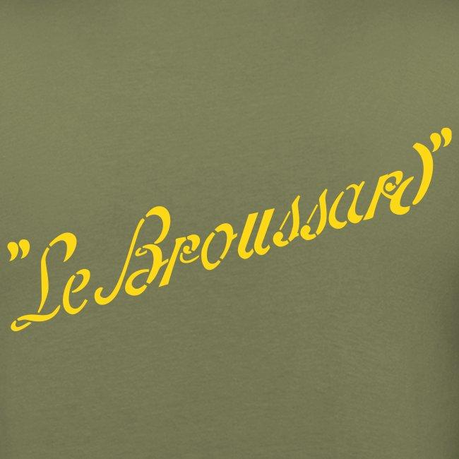 TShirt vert kaki homme Le Broussard simple personnalisable