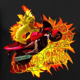 Motiv ~ Let out the wildcat 2, t-shirt
