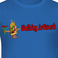 Motiv ~ Walking Artwork, t-shirt