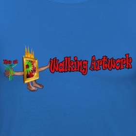 Motiv ~ Walking Artwork, t-shirt