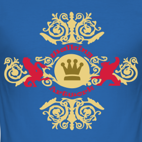Motiv ~ Be a king, t-shirt