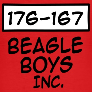 Beagle boys T-Shirts - Men's Slim Fit T-Shirt