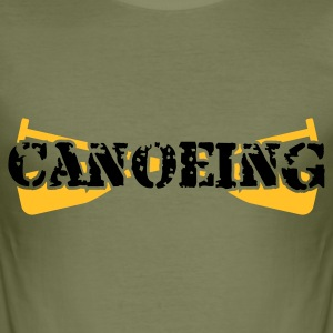 Canoeing - Männer Slim Fit T-Shirt
