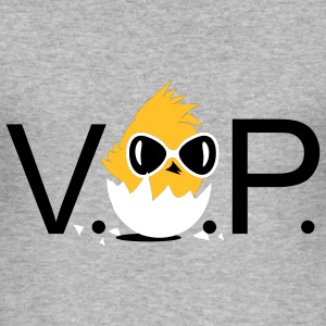 V.I.P. Chick with sunglasses T-Shirts - Men's Slim Fit T-Shirt